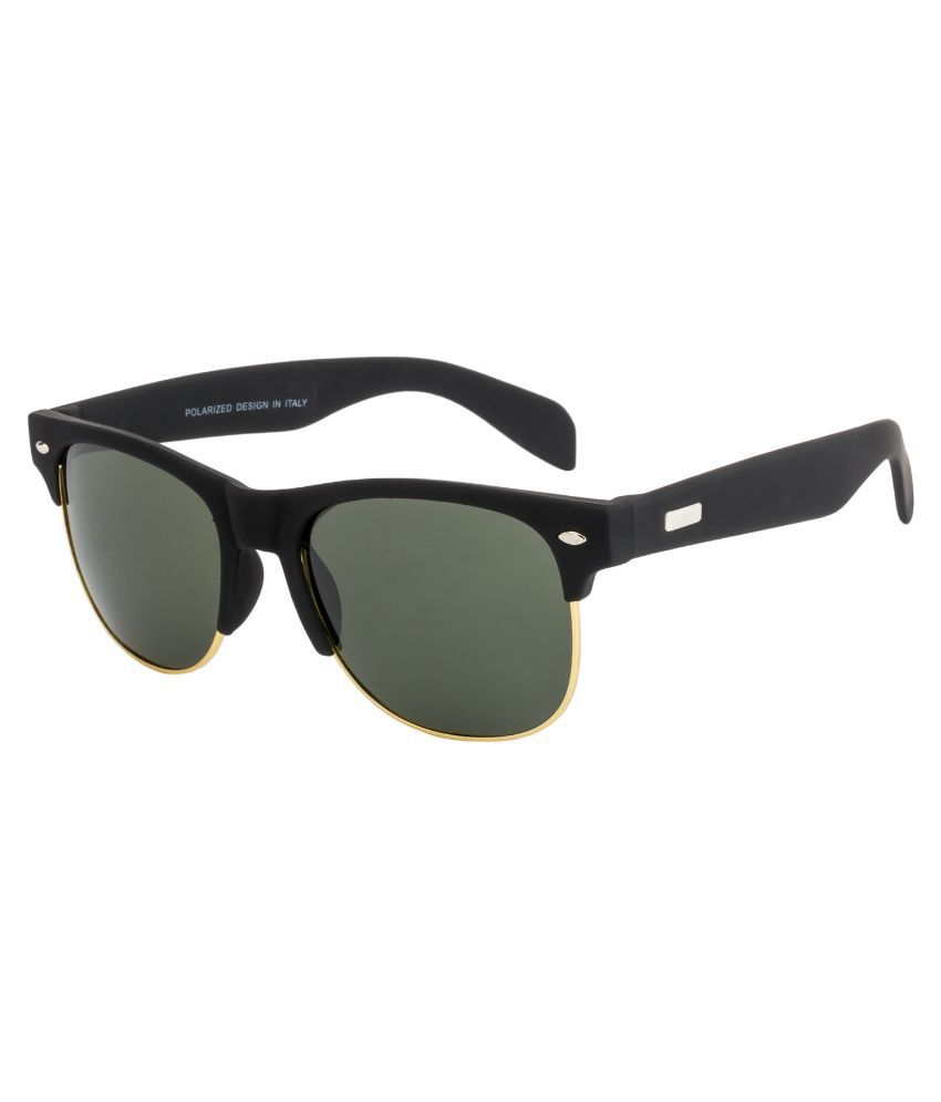 O Positive Green Clubmaster Sunglasses ( OP3986POLC2 )