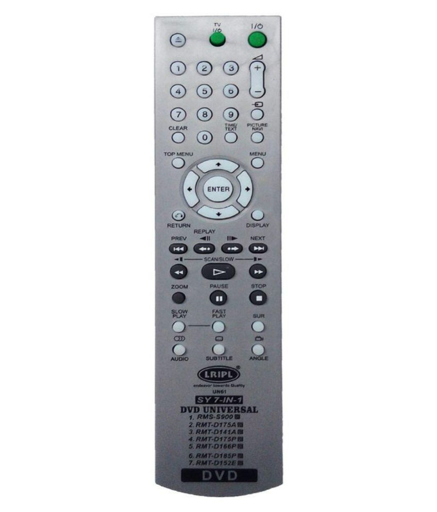 Sony Dvd Player Universal Remote Control