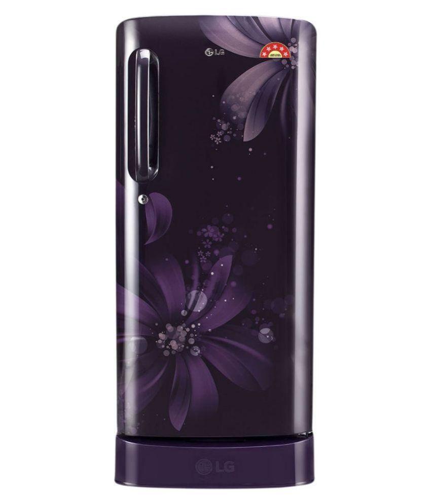 Lg 190 Gl-d201apaz Direct Cool Single Door Refrigerator Purple Aster