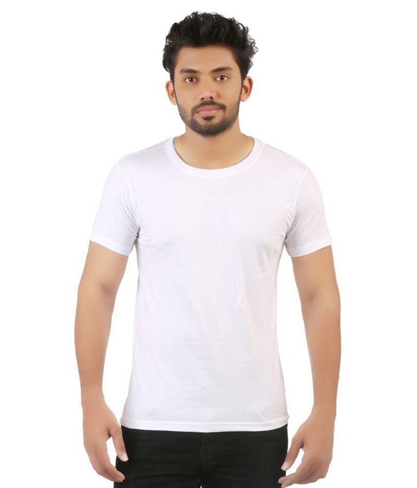 Vuyhaz White Round T Shirt