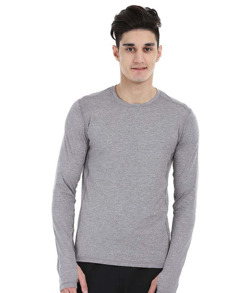 Zobello Grey Round T Shirt