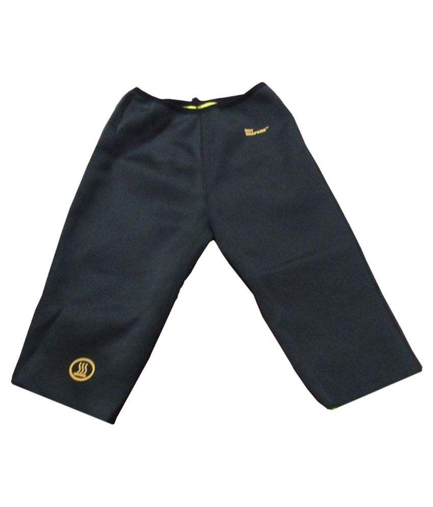 Nayka Black Lycra Bottomwear