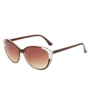 brown wayfarer sunglasses jb93  Ochila Brown Wayfarer Sunglasses  LS 221 UV 400