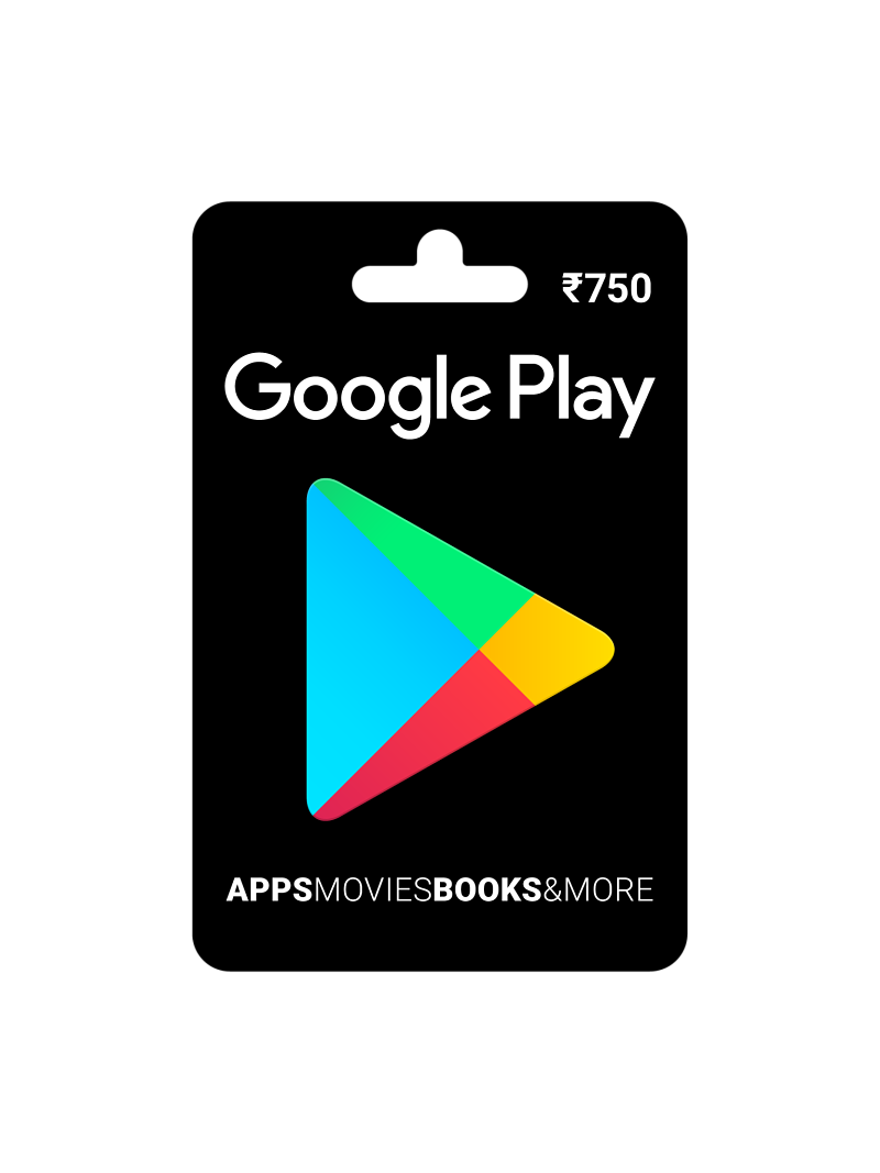 Google Play Gift Card Rs. 750