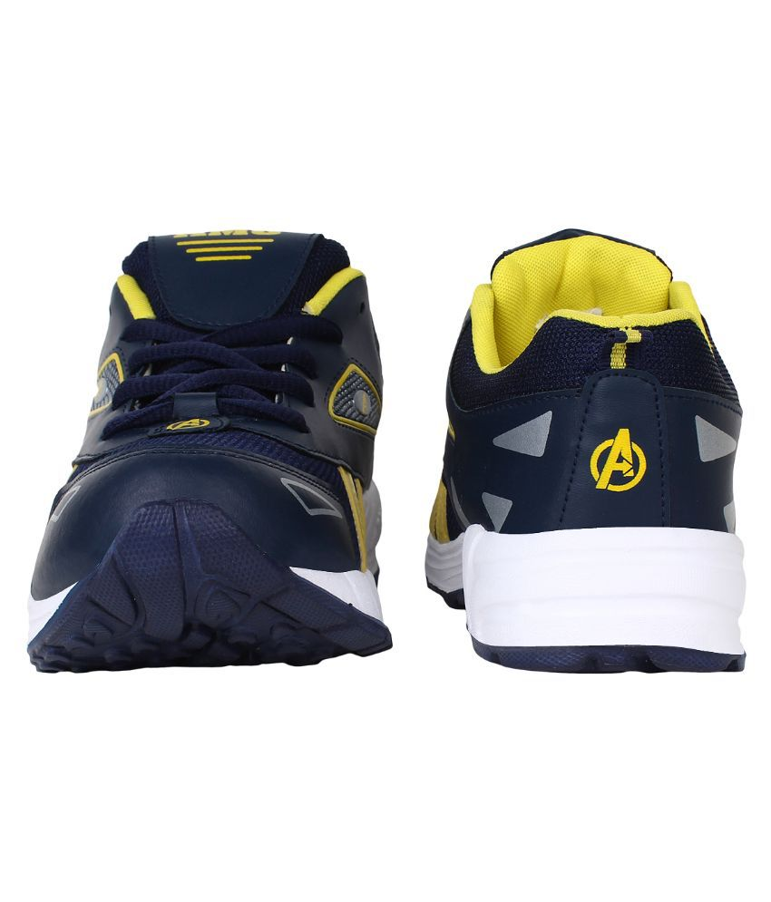 26b140abc019b3 AERO Navy Running Shoes  Buy Online at Best Price on Snapdeal