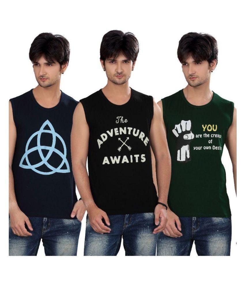 Elegance Cut Multi Round T Shirt