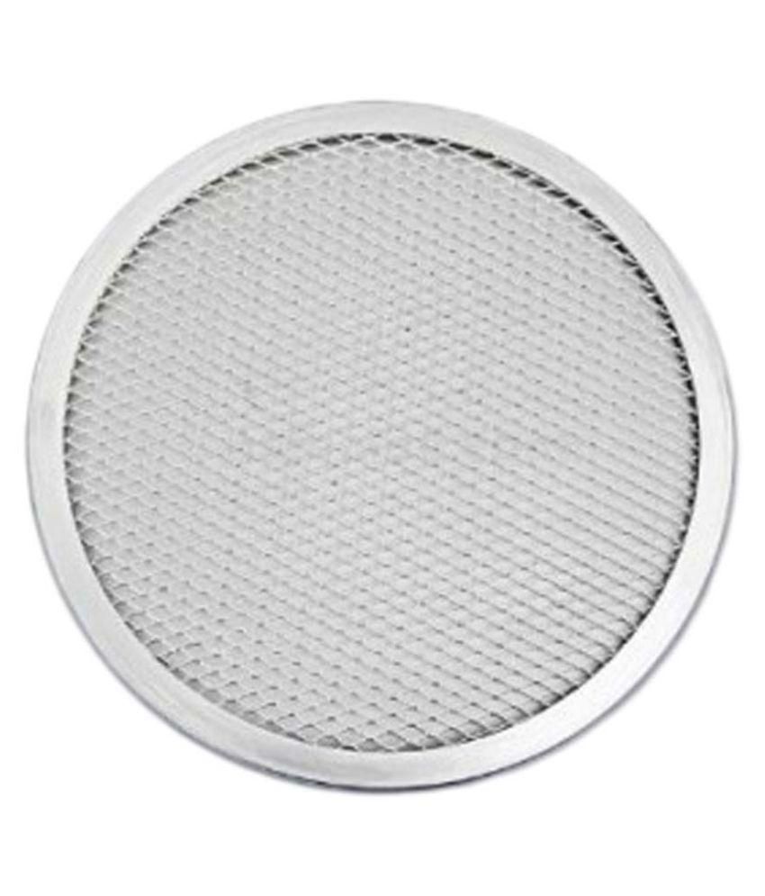 Gsl Commercial Grade Seamless Aluminum Pizza Screen Pan 24 Cm Diameter 12 Inches