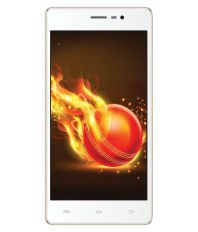 Intex Aqua Lion 3G ( 8GB Champagne Gold )