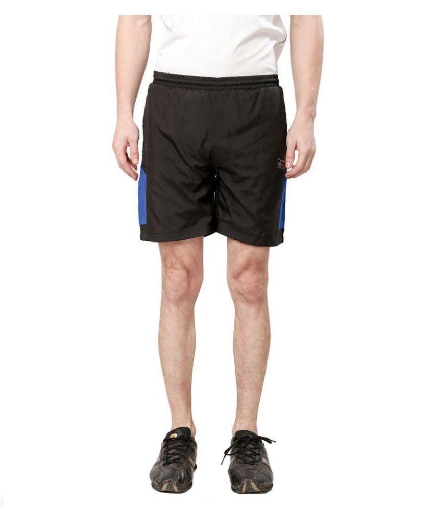 Elligator Black Shorts