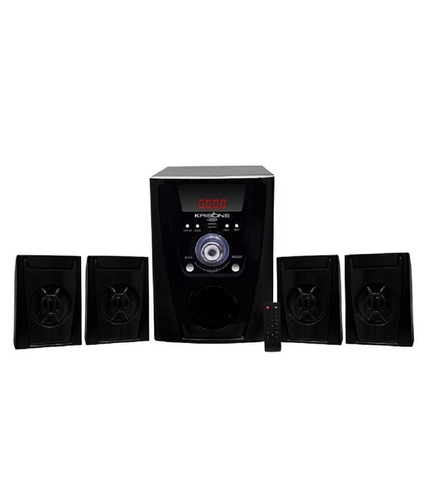 Krisons PBlack 4.1 Speaker System with BLUETOOTH
