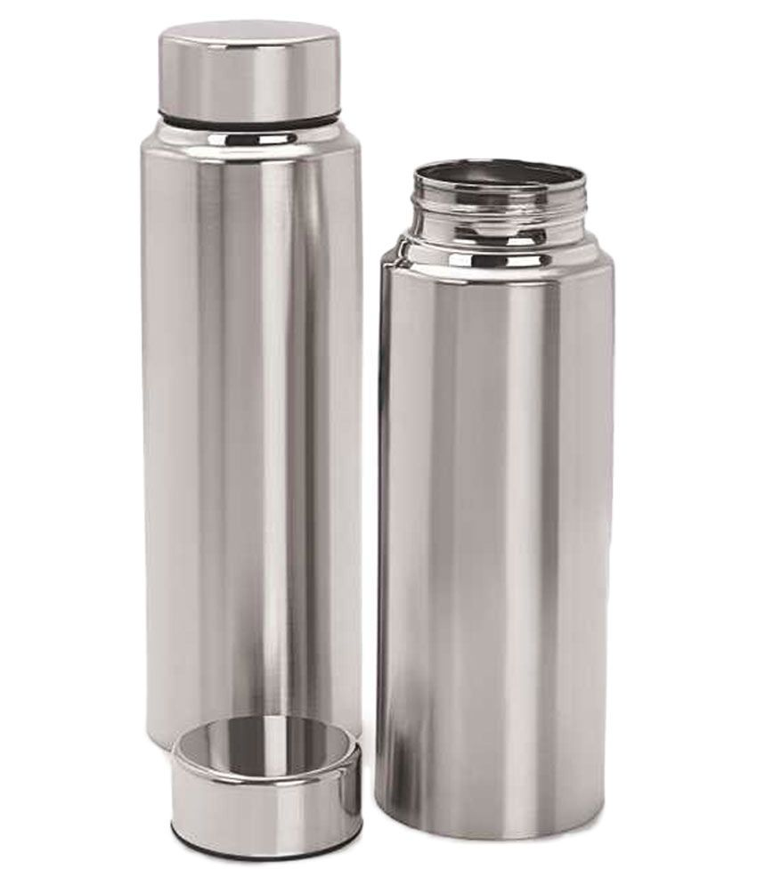 Mazda Silver Stainless Steel Water Bottle