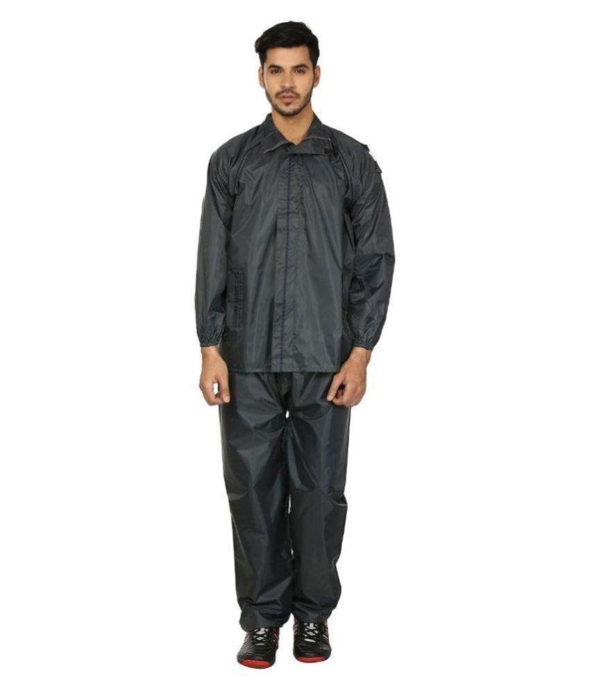 Autosky Grey Waterproof Rain suit  Set