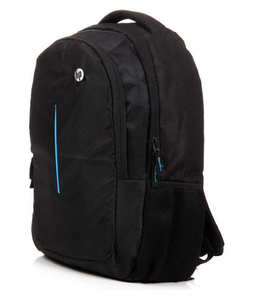 eefa0aab566 HP Black Polyester School Bag - Buy HP Black Polyester School Bag ...