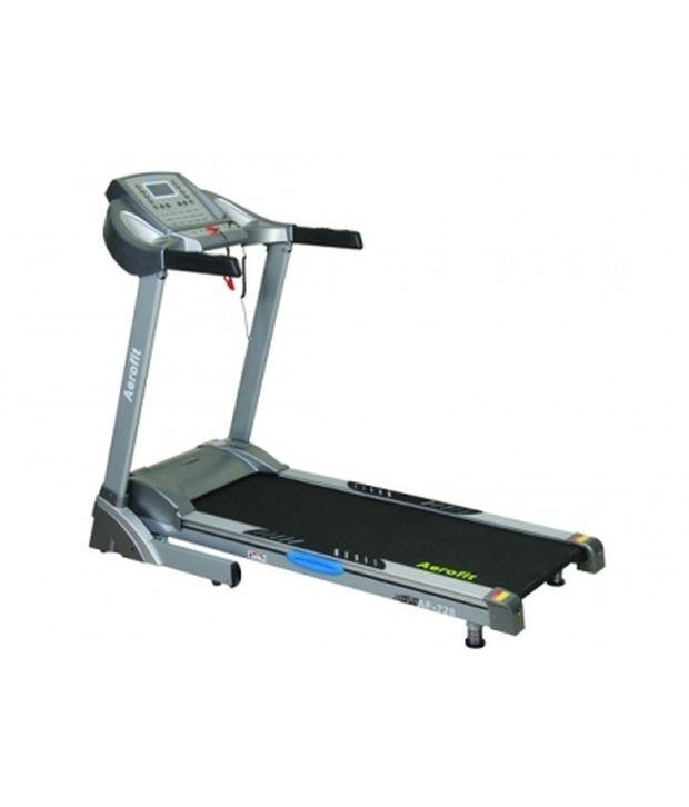 aerofit 2 5 hp motorized treadmill with digital concept