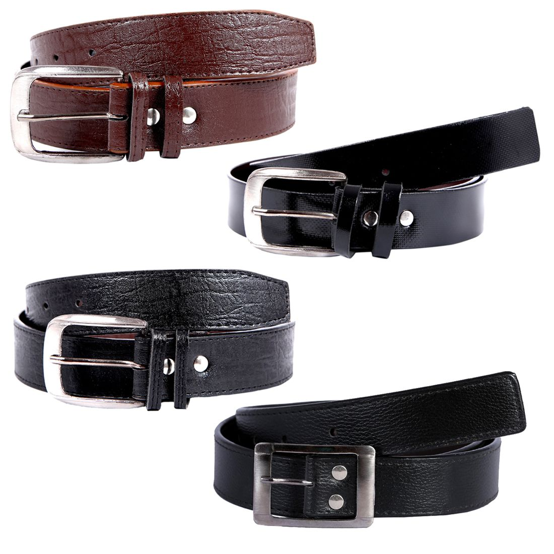 Hardy's Collection Multicolor Belts - Pack of 4
