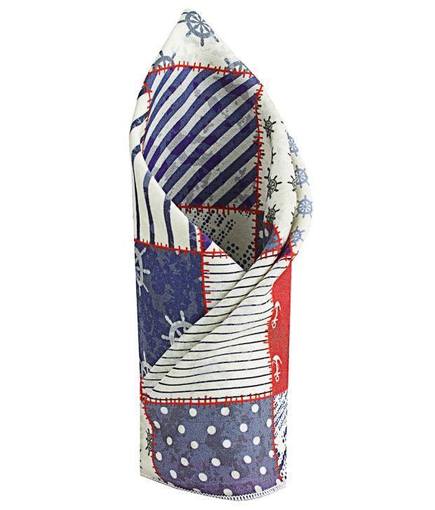 Chokore Multicolor Silk Pocket Square for Men