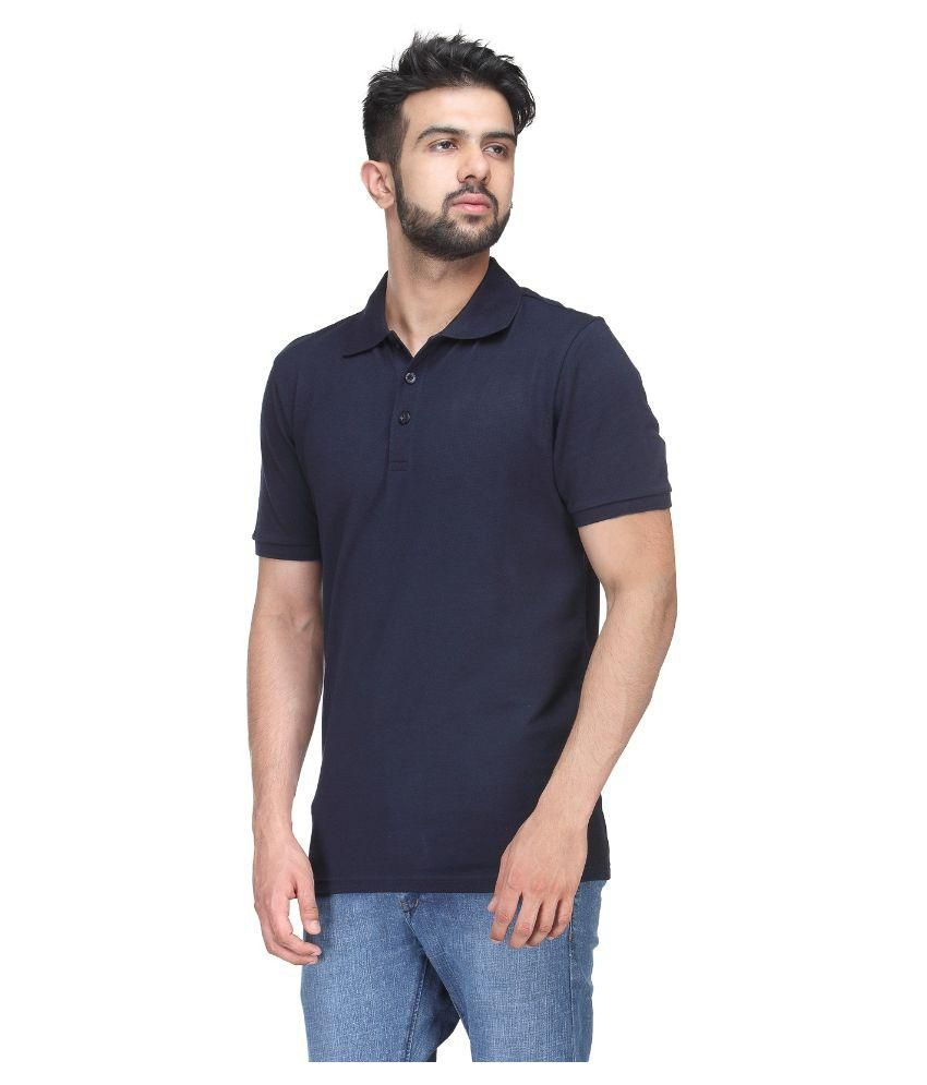 Puma Navy Polo T Shirts
