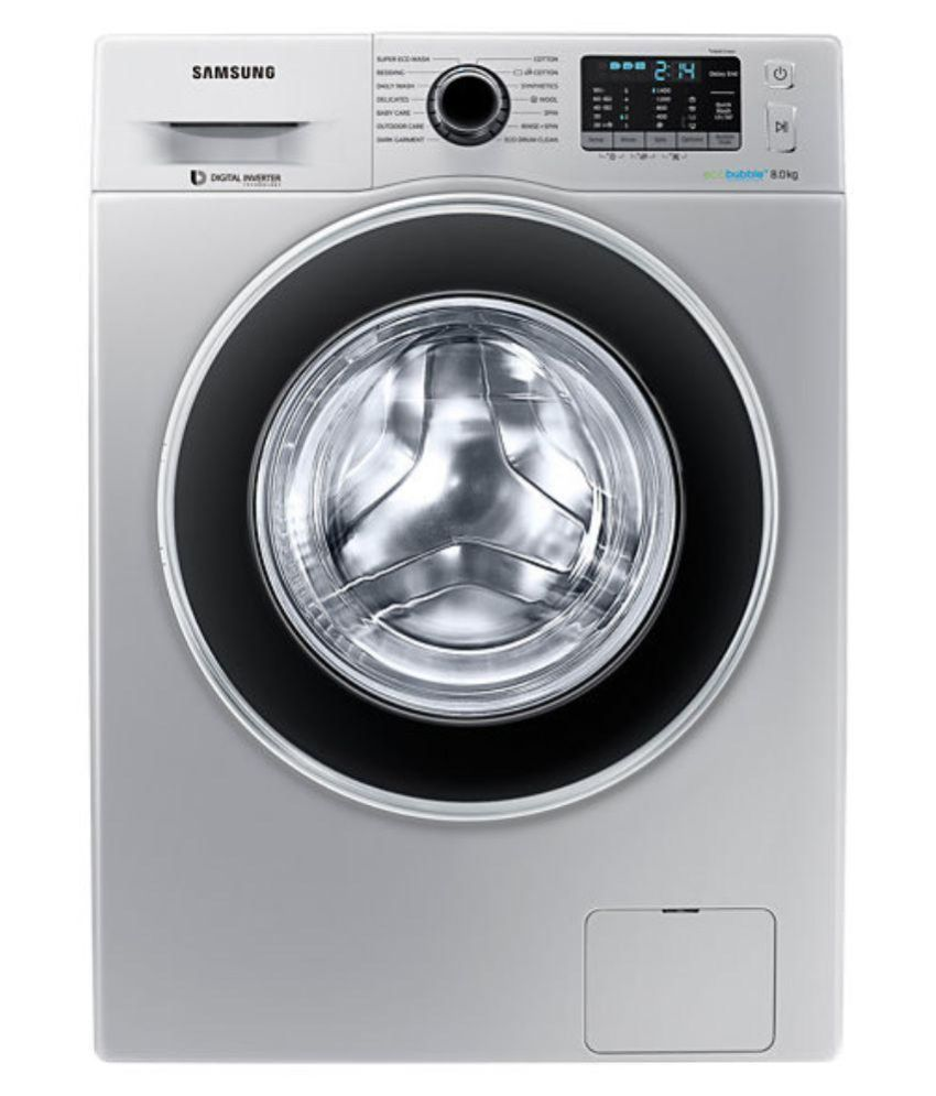Samsung 8 Kg WW80J5410GS Fully Automatic Front Load Washing Machine