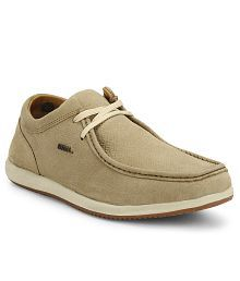 Woodland Khaki Outdoor Casual Shoes