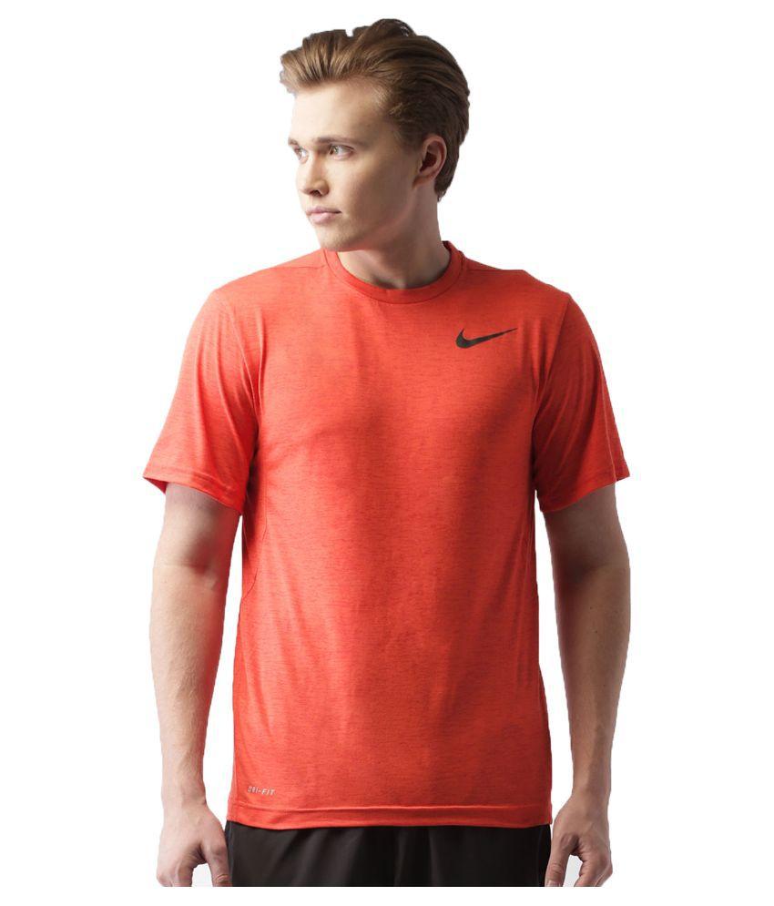 Nike Red Round T Shirt