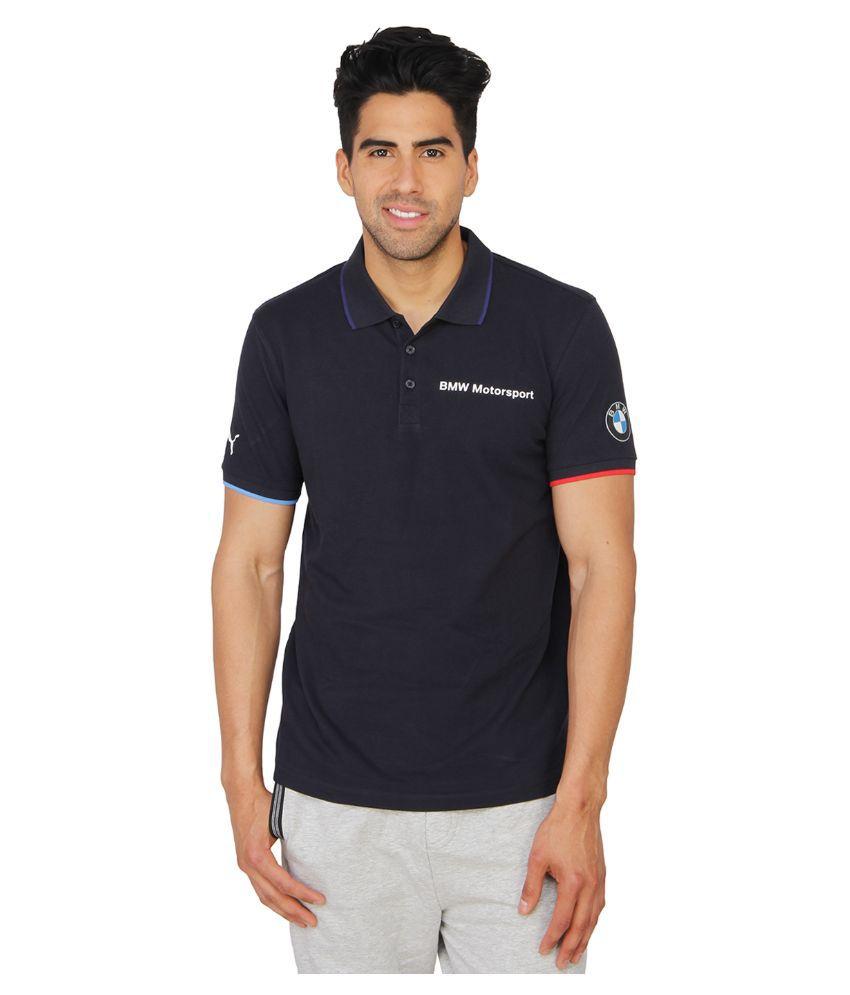 Puma Blue Polo T Shirts