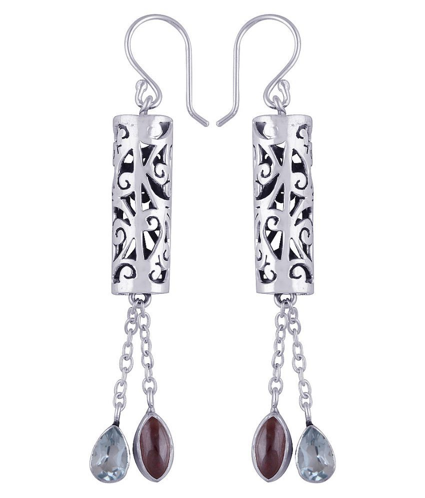 Silver Prince 92.5 Silver Topaz Hangings