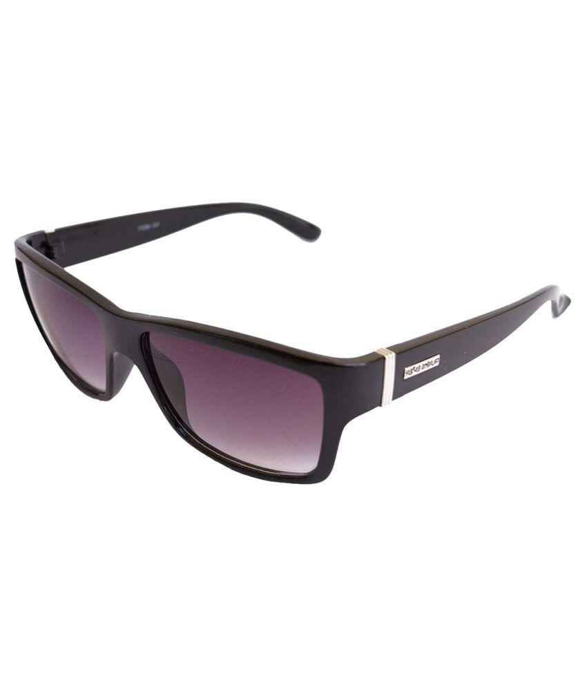 Sunrayz Purple Wayfarer Sunglasses ( Tbar )
