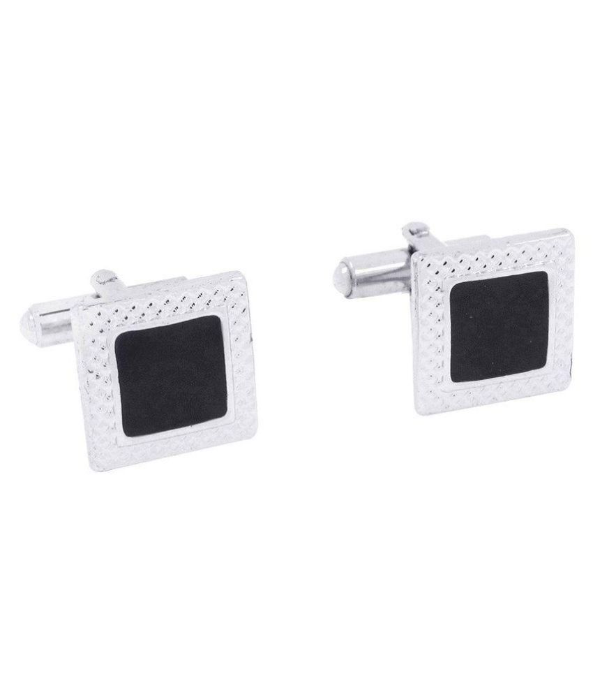 Bsquare Black Metal Cufflinks