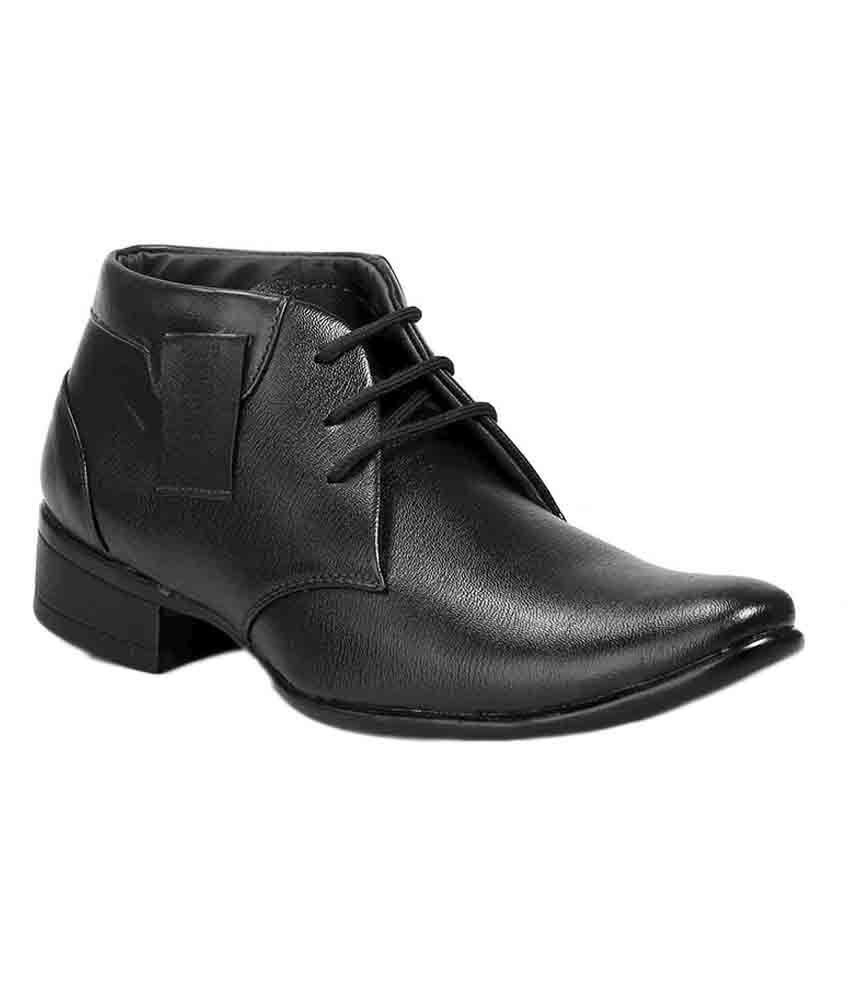 Ferraiolo Black Boots