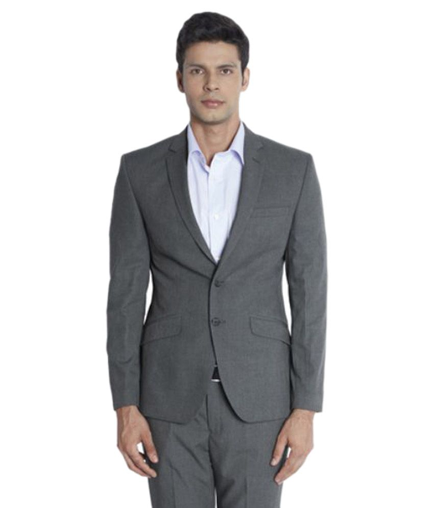 Park Avenue Grey Formal Suits