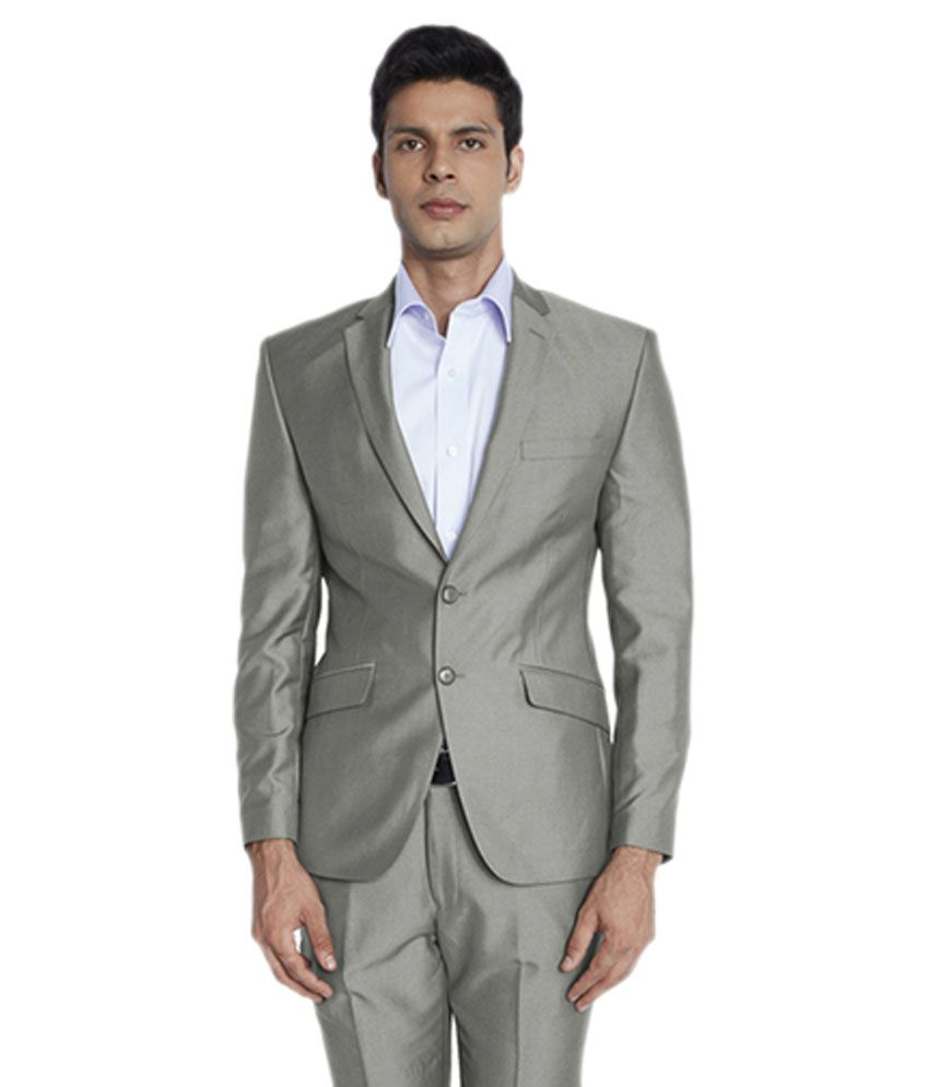 Park Avenue Silver Formal Suits