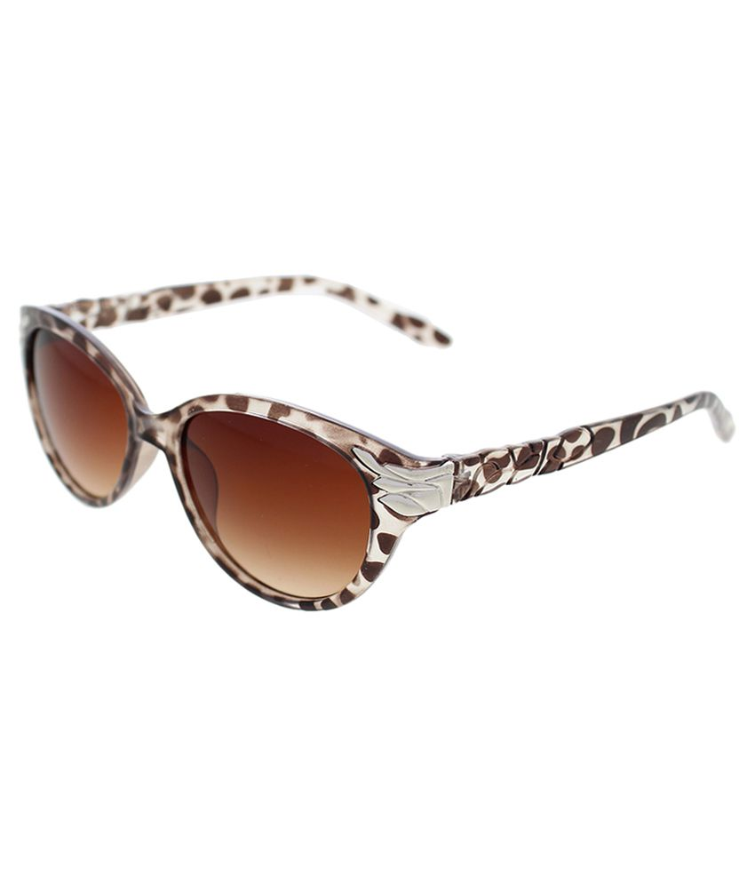Vast Brown Cat Eye Sunglasses ( WOMENS _99189_LEAF_CATEYE_DAMMY )