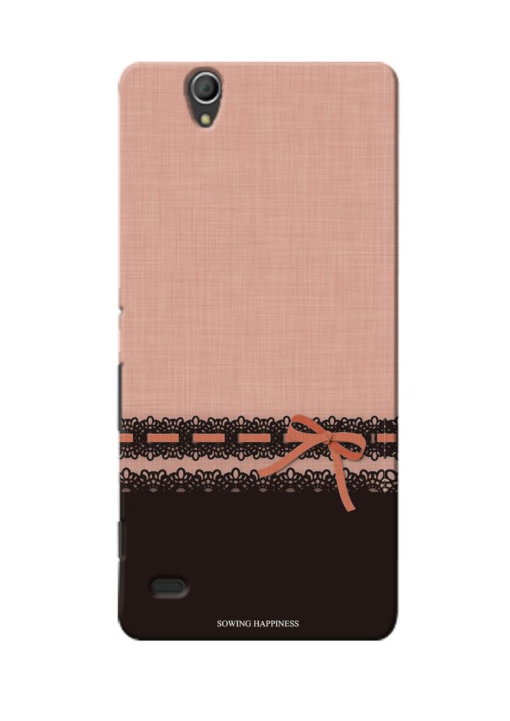 official photos b9e60 2d764 Sony Xperia C4 Dual Printed Back Cover By Sowing Happiness