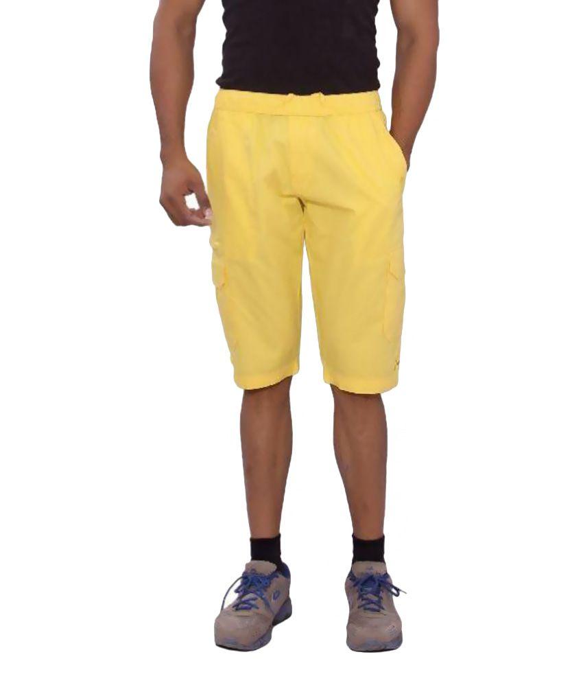 Mountain Colours Yellow Shorts