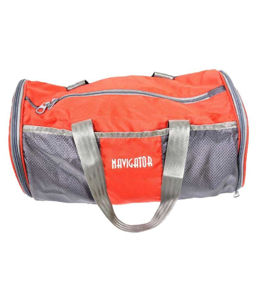 Navigator Dholki01 Grey 10 Gym Bag