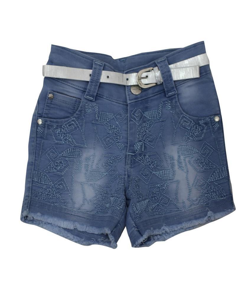 Titrit Blue Denim Shorts