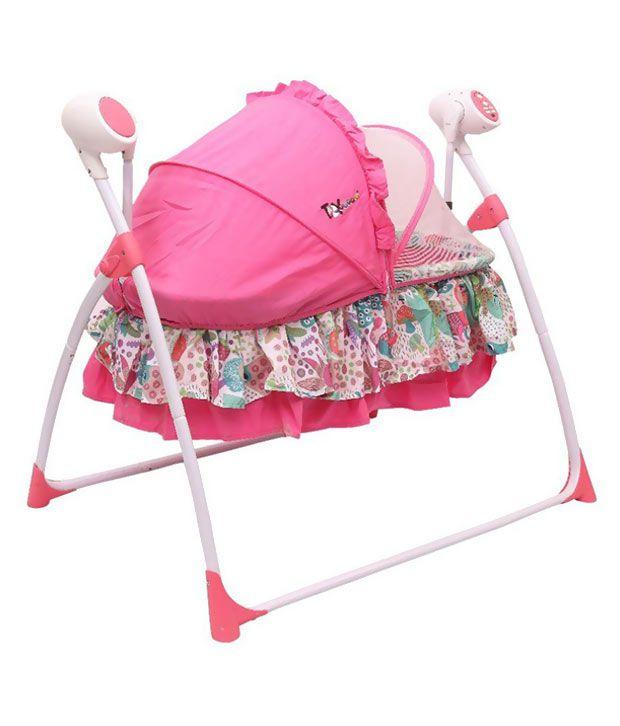 Toyhouse Pink Swing Bassinet
