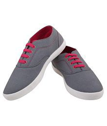Globalite Gray Sneakers Women Casual shoes