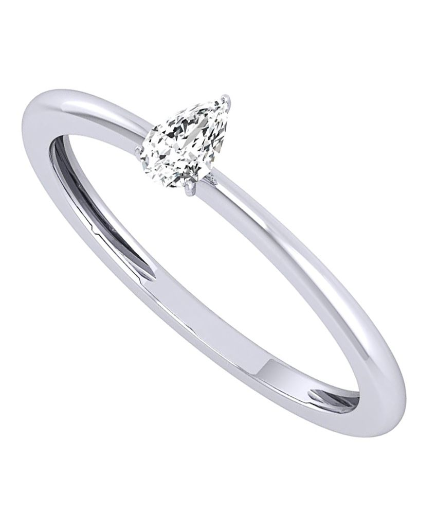 Diamond Farm 14Kt BIS Hallmarked Yellow Gold Diamond Ring