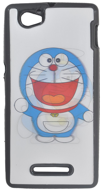 Iway Premium Quality 3D Designer Back Cover For Sony Xperia M C 1904 - Doraemon