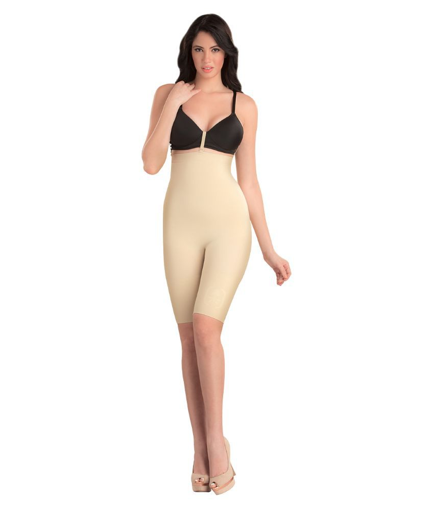 69066a3cfca Buy Swee Spark Nude Color High Waist and Full Thigh Shapewear Online at  Best Prices in India - Snapdeal