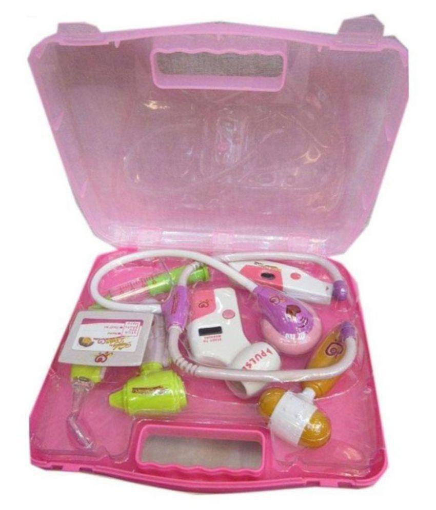 Paradise Fashion Pink Barbie Kitchen Set Price In India Buy