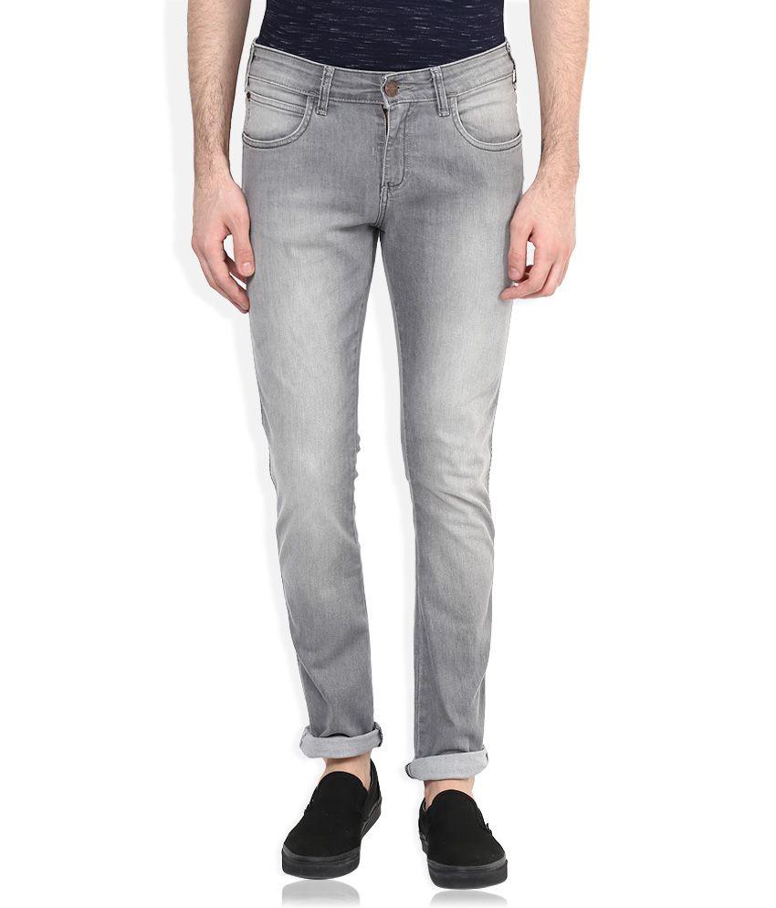 Wrangler Grey Vegas Skinny Fit Jeans