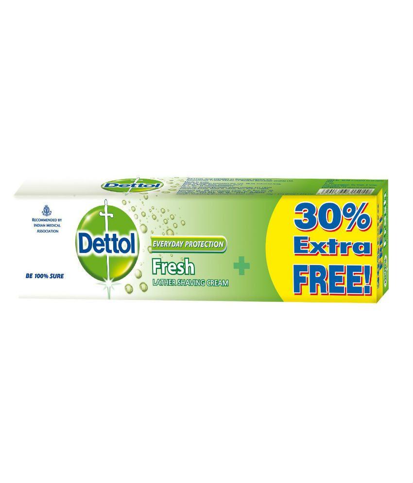 Dettol Shaving Cream Fresh 70g+30%