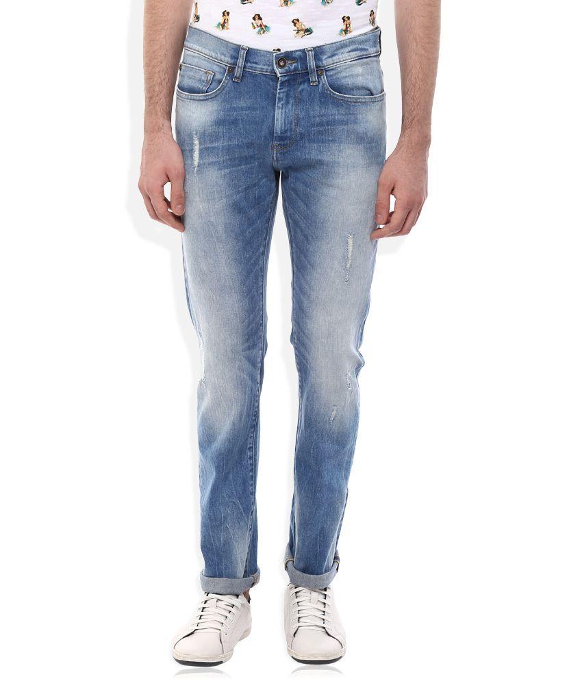 Celio BLUE Regular Fit Jeans