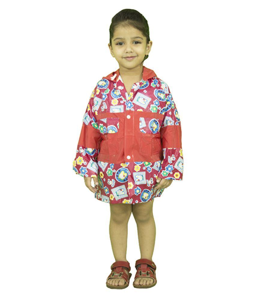Rainfun Multicolour Polyester Raincoat