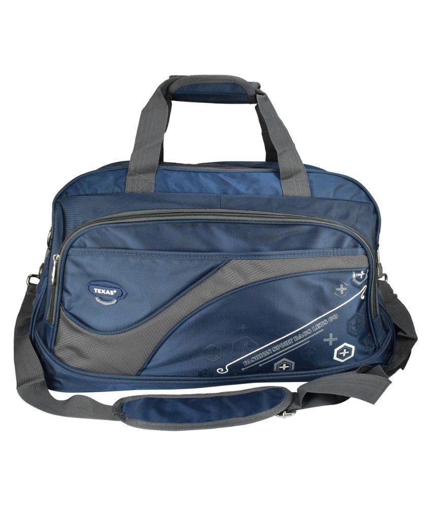 Texas BLUE Gym Bag