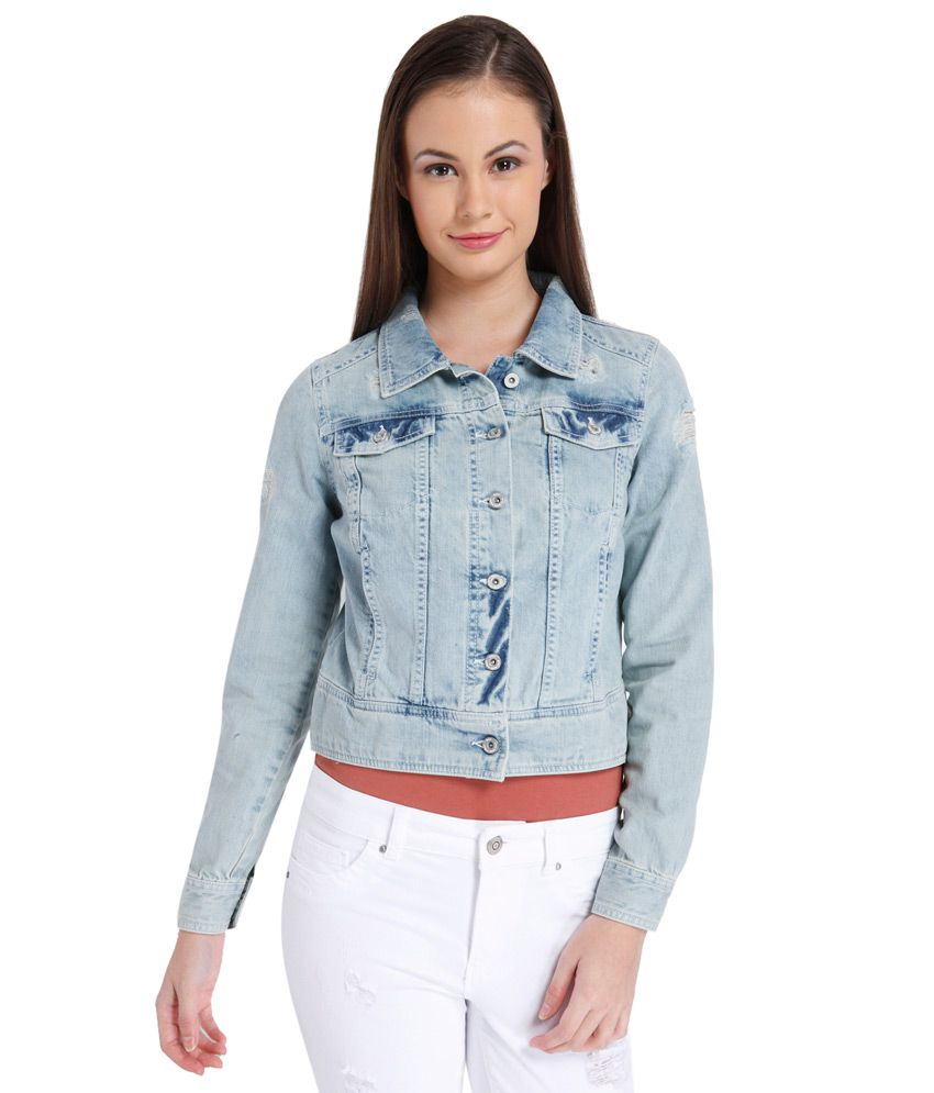 Buy ONLY Blue Denim Jacket Online at Best Prices in India - Snapdeal