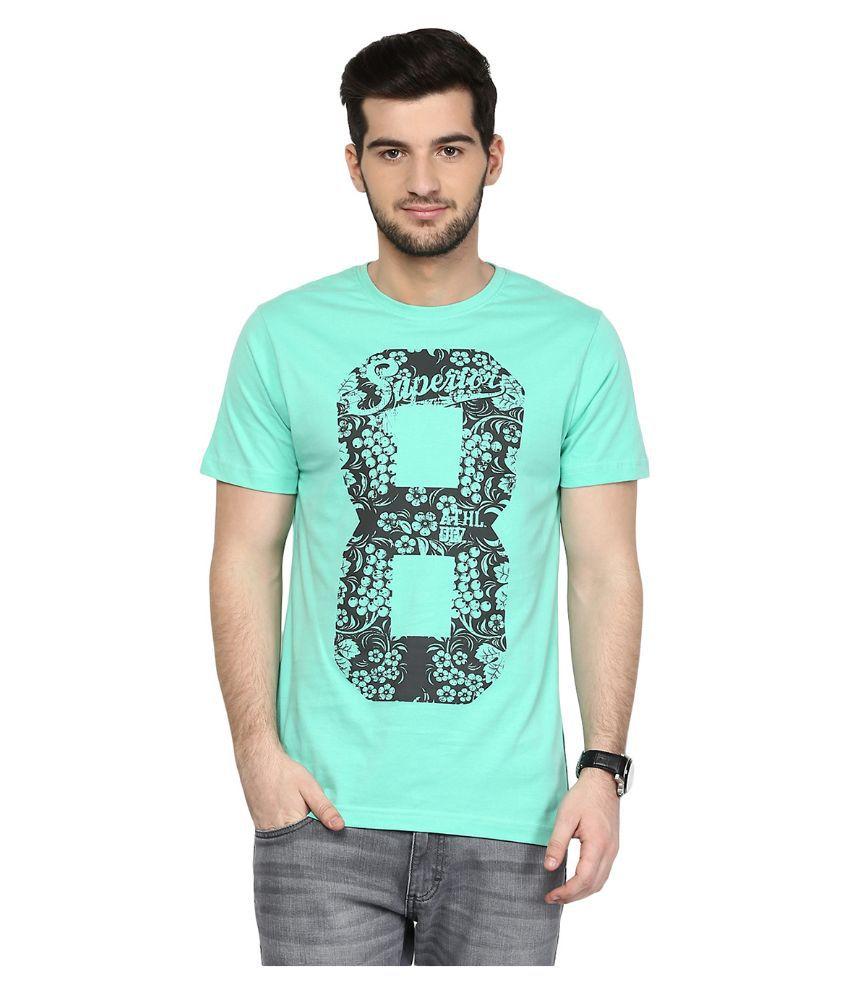 Yepme Blue Round T Shirt