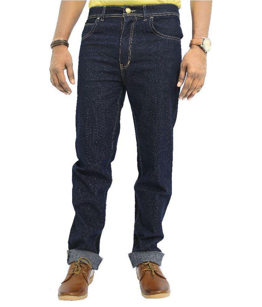 Jugend Navy Regular Fit Solid Jeans